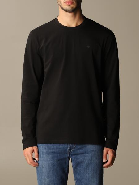 Emporio Armani uomo: T-shirt Emporio Armani in cotone con logo