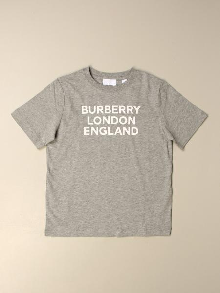 Burberry kids: Burberry T-shirt with Burberry London England print