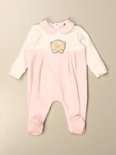 Tutina con piede Le Bebè con orsetto