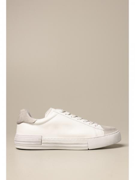 Hogan: Sneakers Rebel Hogan in pelle usured