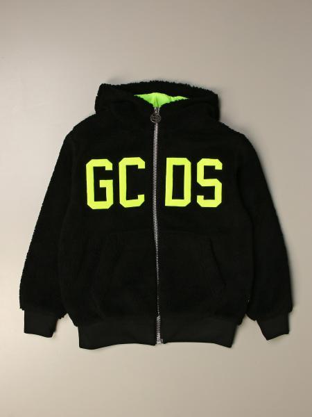 Felpa GCDS con big logo e zip
