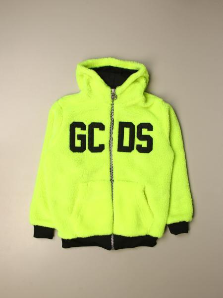 GCDS sweatshirt with big logo and zip