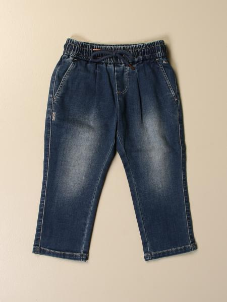 Sun 68: Sun 68 jogging jeans in used denim