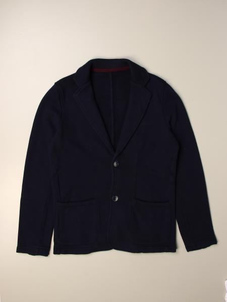 Sun 68 basic single-breasted jacket