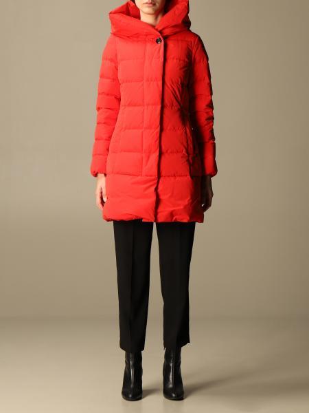 Woolrich women: Woolrich down jacket with hood