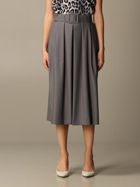 Blumarine: Blumarine longuette skirt with belt
