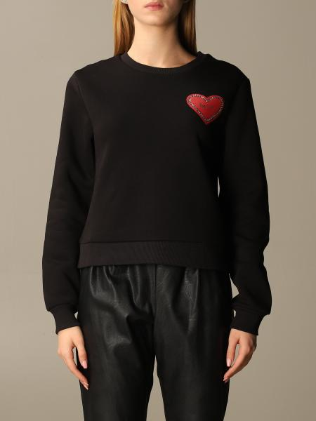Blumarine: Be Bluemarine crewneck sweatshirt with heart