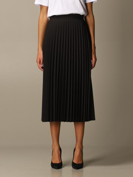 Blumarine: Be Bluemarine pleated longuette skirt