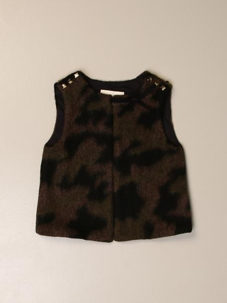 Douuod vest with bow and micro studs
