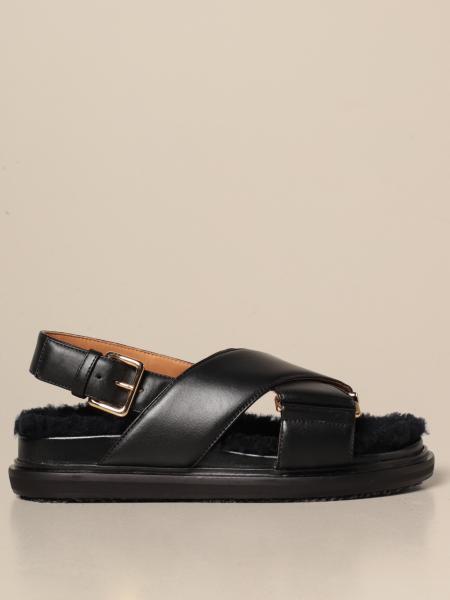 Marni: Sandalen mit absatz damen Marni