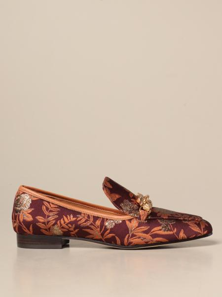 Tory Burch: Mocassino Jessa Tory Burch in jacquard floreale