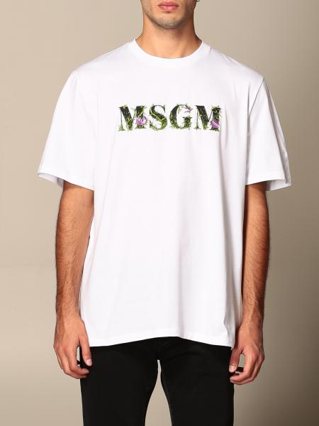 Msgm: T-shirt herren Msgm