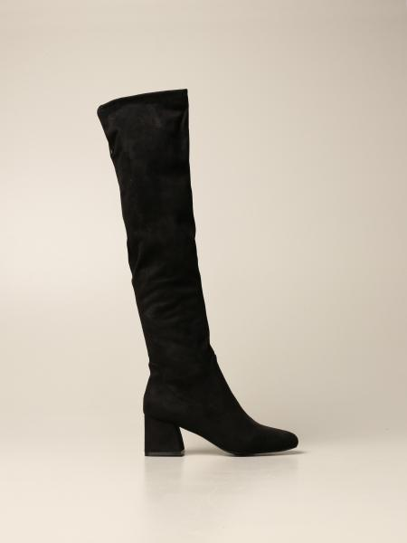 Delena Steve Madden boot in synthetic suede