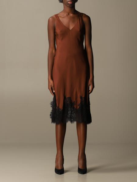 Kleid damen Gold Hawk