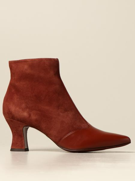Vuka Mihara ankle boot in suede and leather