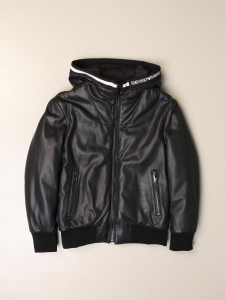 Emporio Armani hooded jacket with zip