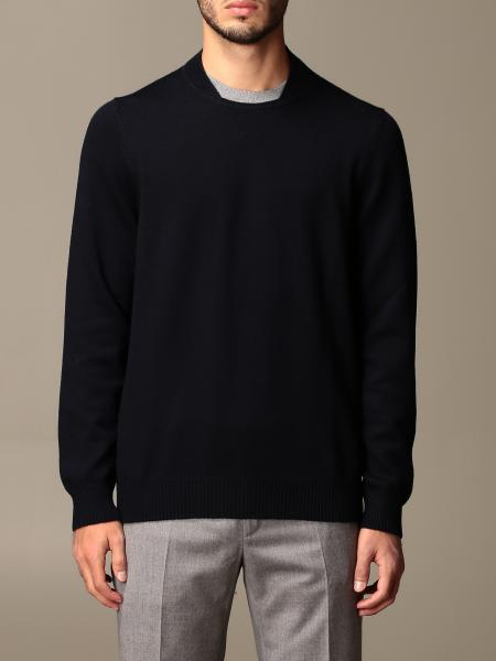 Fay: Fay crewneck sweater with contrasting detail