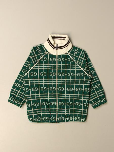Gucci kids: Gucci sweatshirt with all over logo