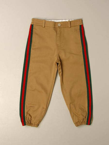 Gucci trousers with Web bands