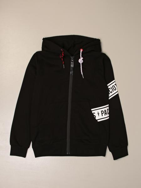 Paciotti 4Us: Paciotti 4US hooded sweatshirt with zip