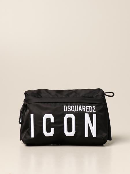 Marsupio Dsquared2 Junior in nylon con logo Icon
