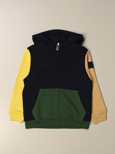 Il Gufo: Il Gufo hoodie in multicolor cotton