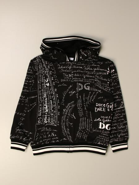 Dolce & Gabbana sweatshirt with all over lettering