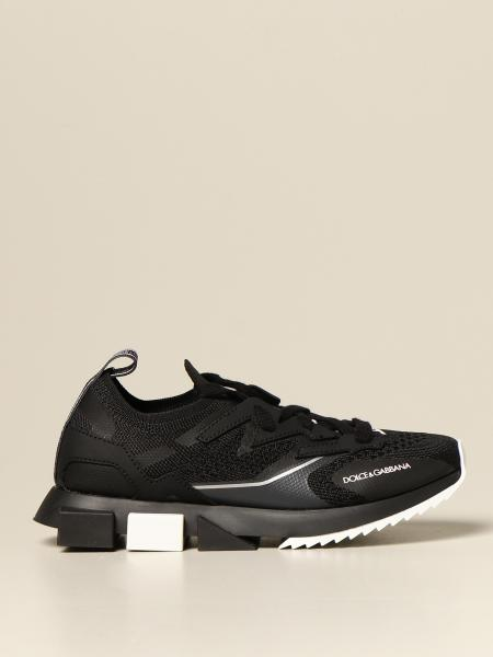 Dolce & Gabbana kids: X Generation Dolce & Gabbana sneakers in leather and mesh