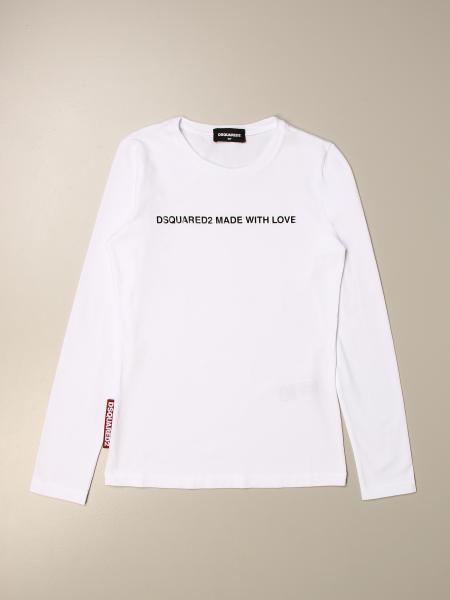 T-shirt Dsquared2 Junior con logo