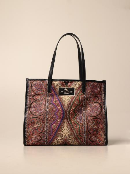 Etro shoulder bag in paisley fabric