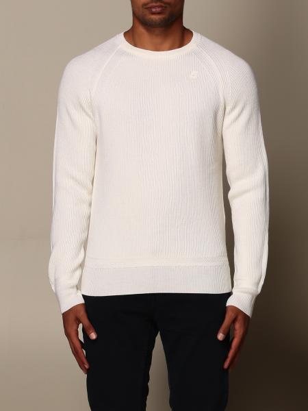 K-Way men: K-way basic crew neck sweater