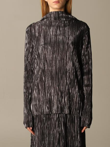 Maliparmi pleated fabric top