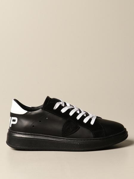 Philippe Model: Sneakers Granville Philippe Model in pelle e camoscio