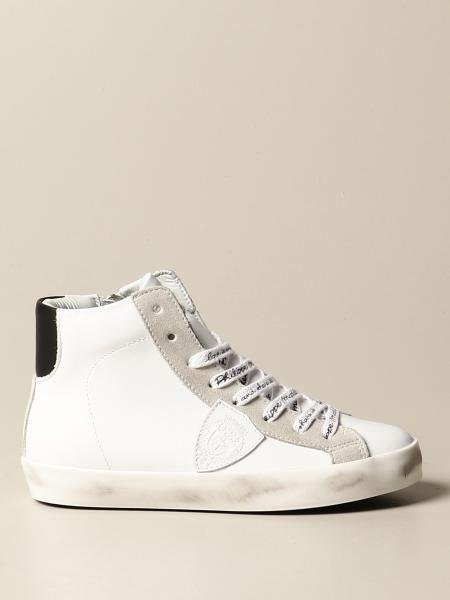 Philippe Model: Sneakers Paris Philippe Model in pelle con zip