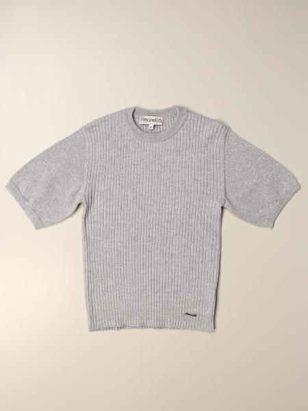 Simonetta: Simonetta crewneck sweater in virgin wool