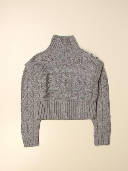 Pullover Dondup in maglia a trecce
