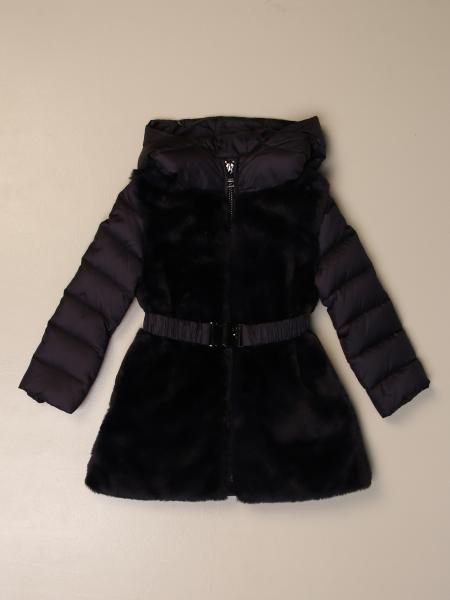Liu Jo kids: Liu Jo down jacket with hood and zip