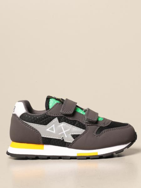 Sneakers Sun 68 in tessuto e pelle sintetica