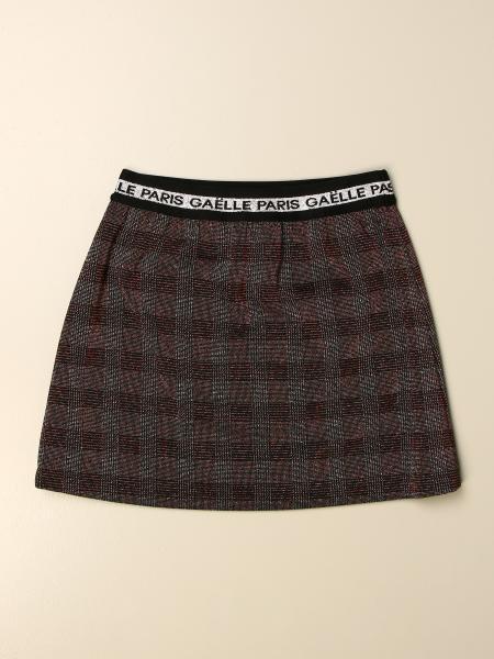 GaËlle Paris short tartan skirt