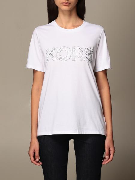 Michael Kors women: Michael Michael Kors T-shirt with jewel logo