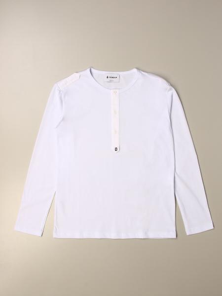 Dondup T-shirt with mini buttons