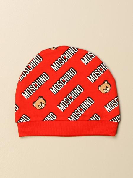 Moschino Baby hat with all over logo