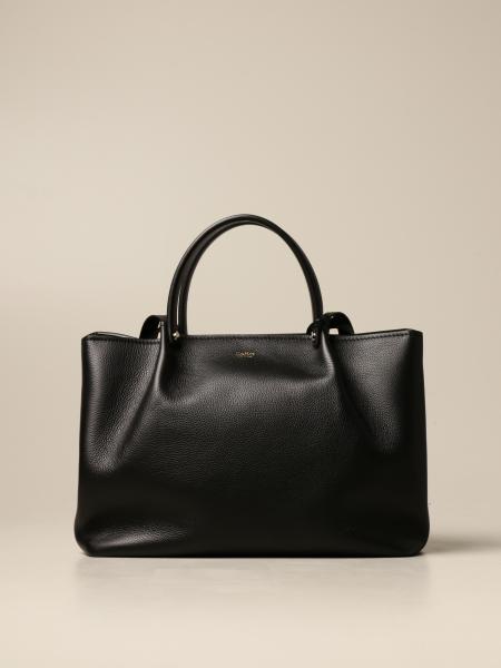 Max Mara The Cube: Max Mara The Cube handbag in grained leather