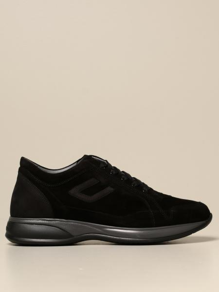 Paciotti 4Us men: Paciotti 4US sneakers on suede with logo