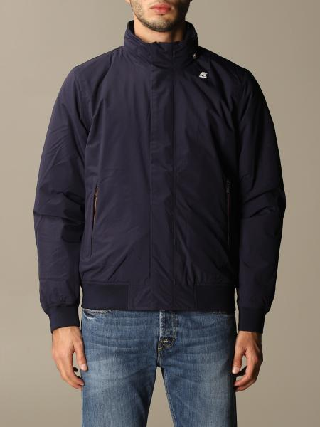 K-Way men: K-way sports jacket with logo