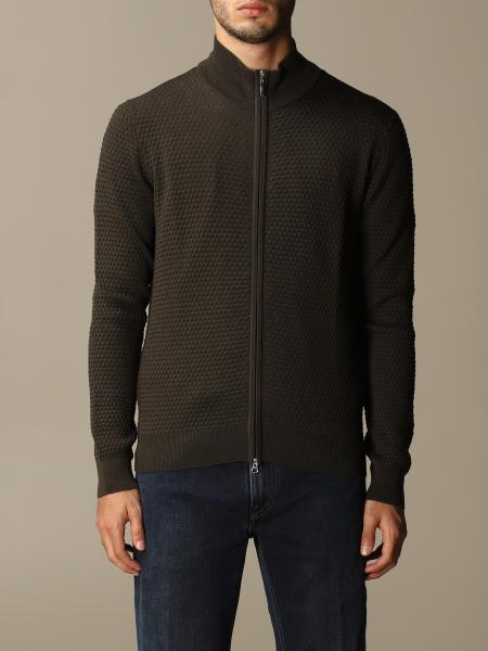 Gran Sasso: Gran Sasso cardigan in wool with zip