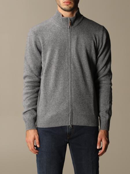 Gran Sasso 贴布羊毛开衫