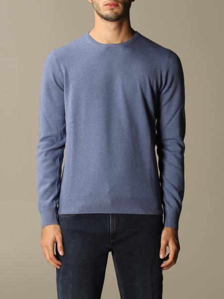 Gran Sasso: Gran Sasso crewneck sweater with patches