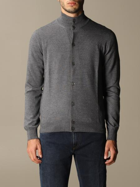 Gran Sasso: Gran Sasso cardigan in virgin wool with buttons