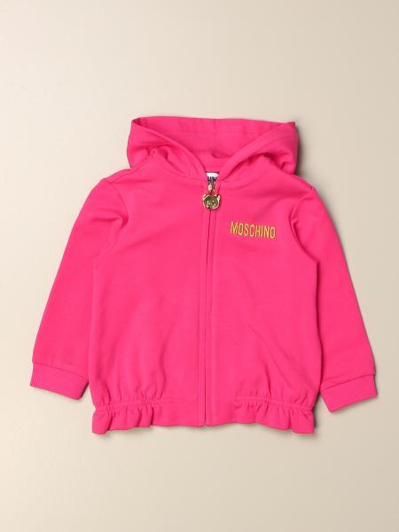Moschino kids: Moschino Baby sweatshirt with Teddy tiger